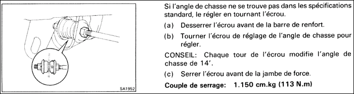 toyota mr2 sw20 la chasse avant specifications techniques